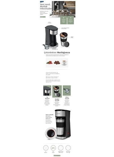 Goldmaster Karnaval Filtre Kahve Makinesi In-6330 Renkli
